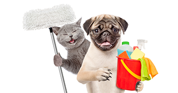 Засоби для прибирання за тваринами